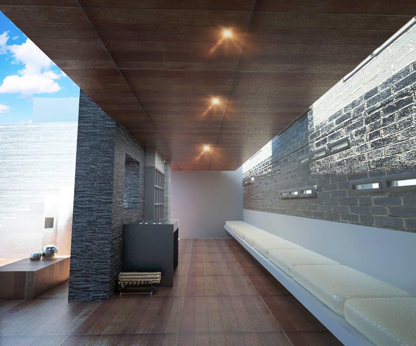 Diseño Roof Garden: Terrazas de estilo  por Prototype studio