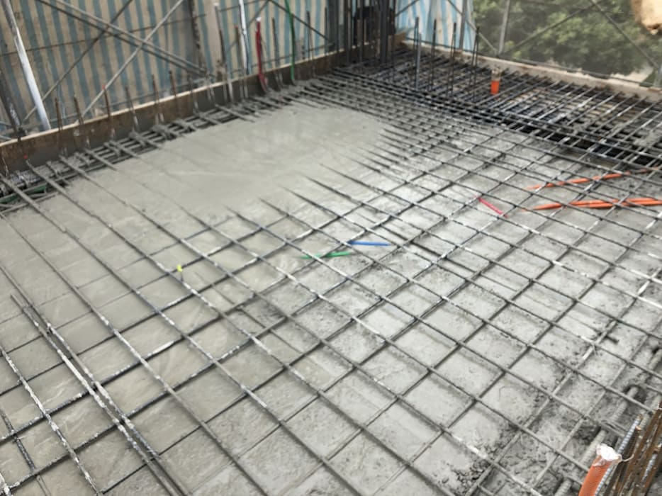 3F柱牆4F版灌漿完成 by 讚基營造有限公司