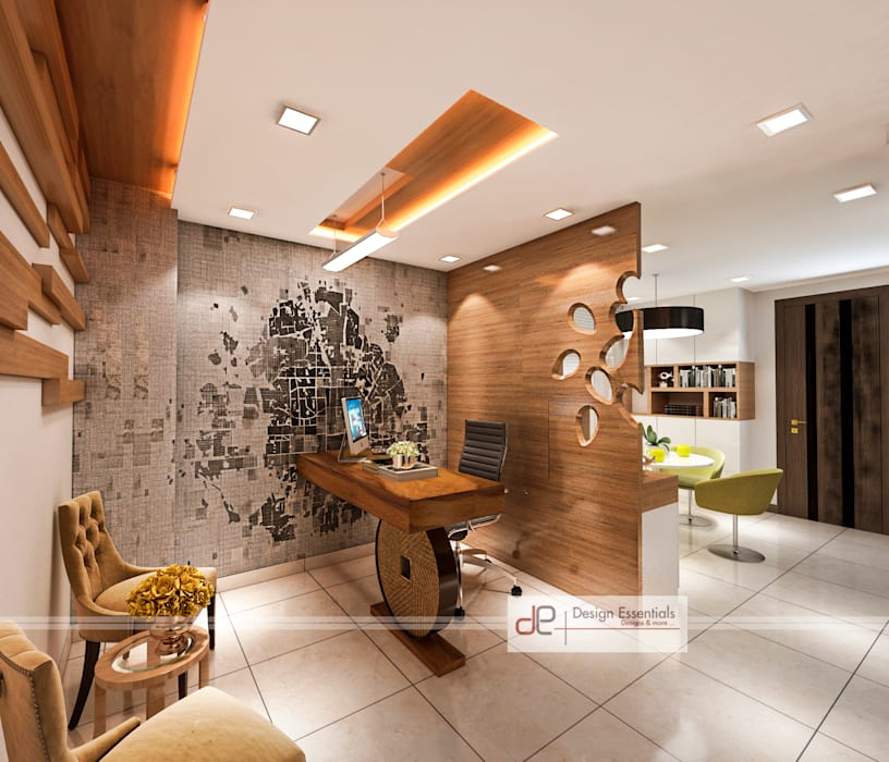 Reception:  Study/office by Design Essentials