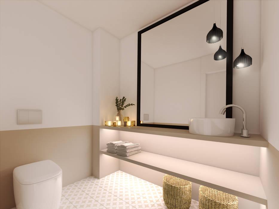 โดย MIA arquitetos โมเดิร์น