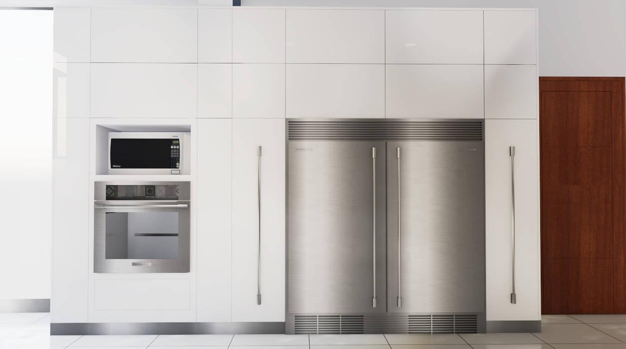 Cocina. : Cocinas de estilo  por DIS.OLIVER QUIJANO