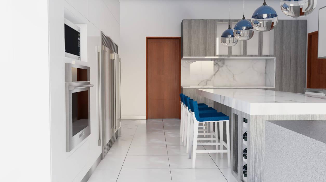 Cocina. : Cocinas de estilo  por DIS.OLIVER QUIJANO,