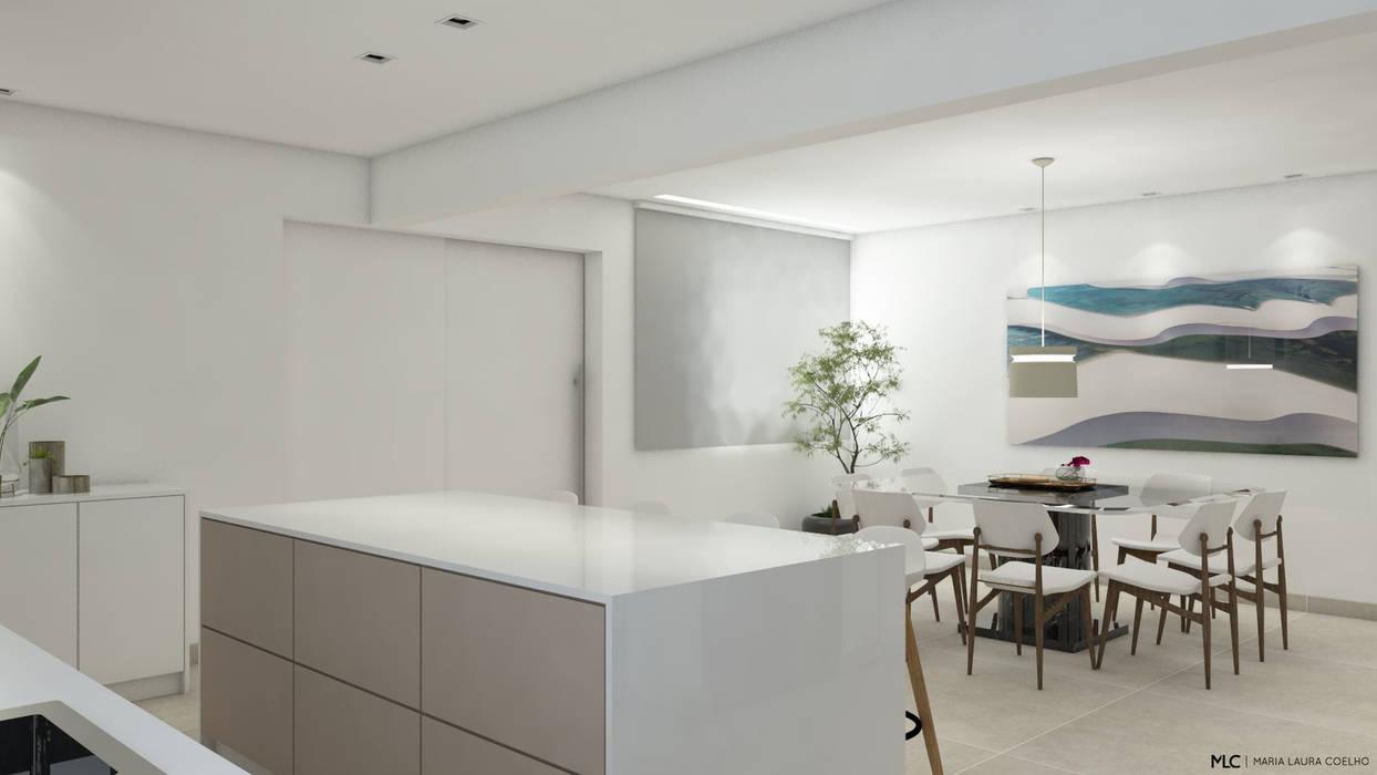 Maria Laura Coelho Modern style kitchen