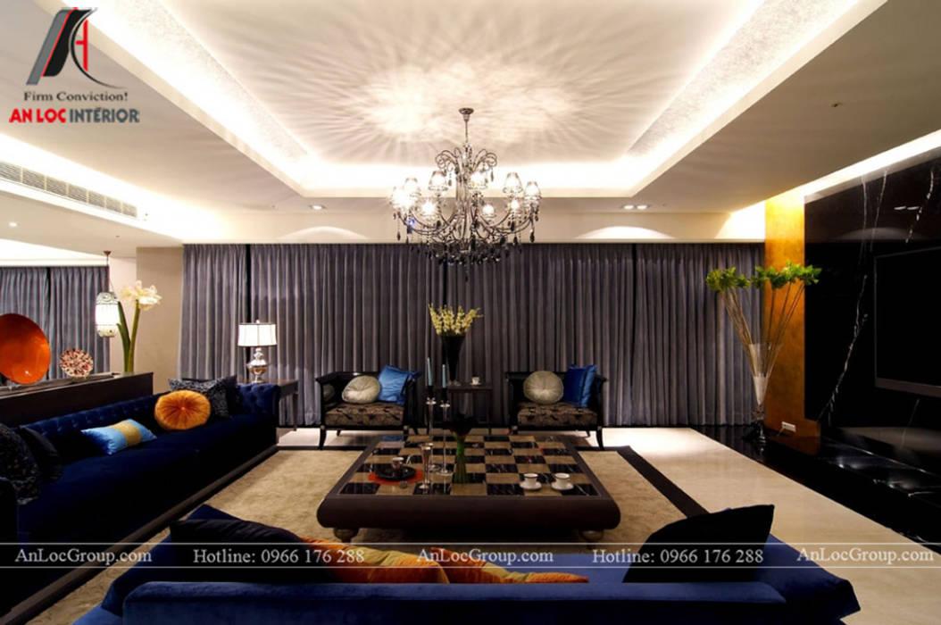Phòng giải trí phong cách hiện đại bởi Nội Thất An Lộc Hiện đại