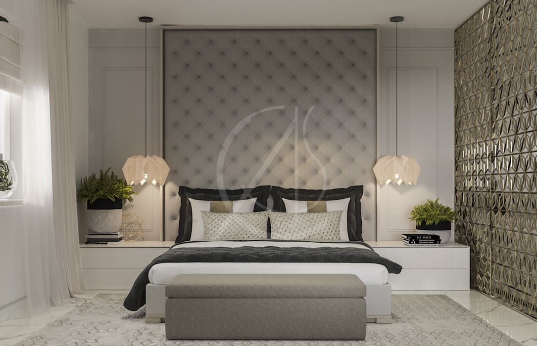 Modern Bedrooms Interior Design Comelite Architecture Structure And Interior Design Modern Style Bedroom Grey Homify