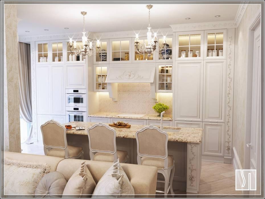кухня: Кухни в . Автор – Студия дизайна Светланы Исаевой,