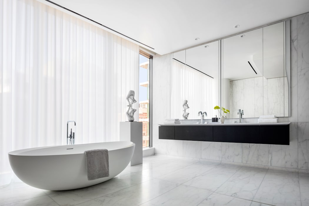 Baños de estilo  por Zaha Hadid Architects