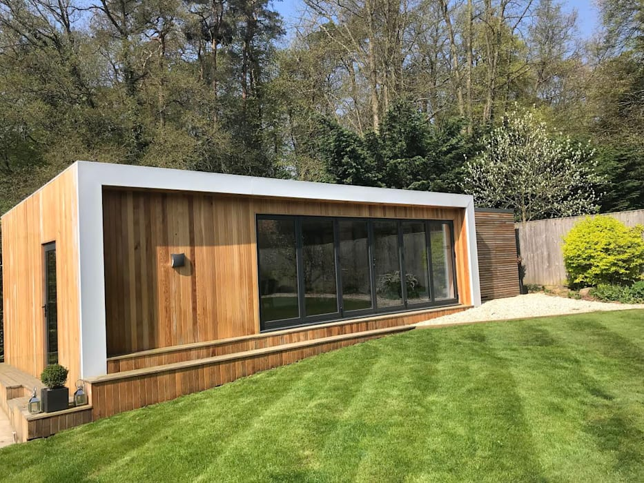 Ruang Fitness oleh Modern garden rooms ltd