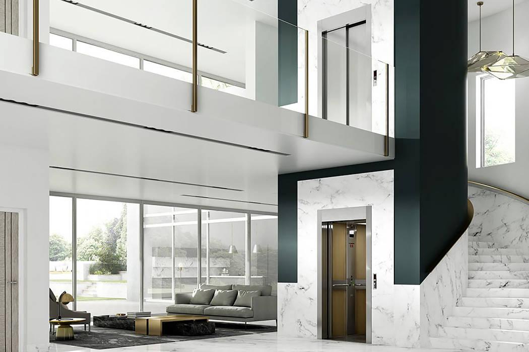 Elevador Stannah Select - Um elevador completo para áreas com limitações de espaço: Escadas  por Stannah