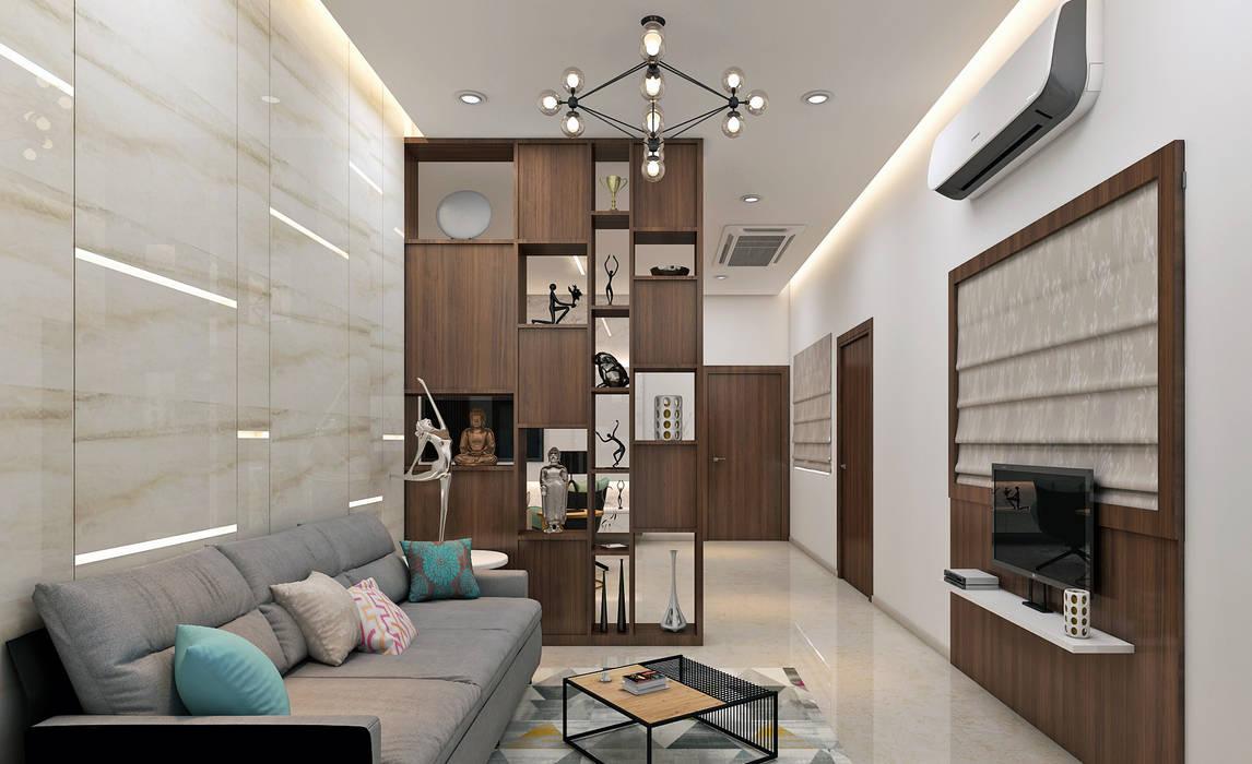 Living room by Inside Element, Modern