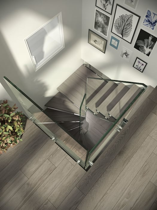 Mistral Spiral by Siller Treppen/Stairs/Scale Modern Wood Wood effect