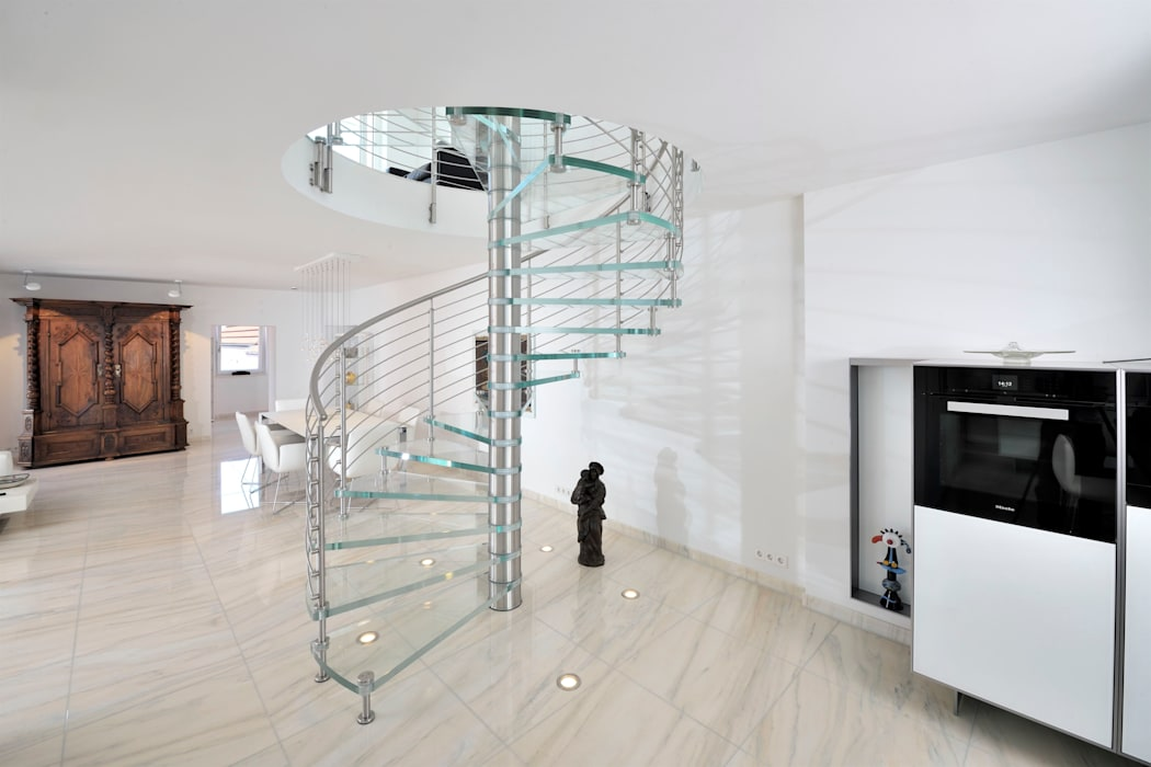 Par Siller Treppen Stairs Scale Moderne Homify