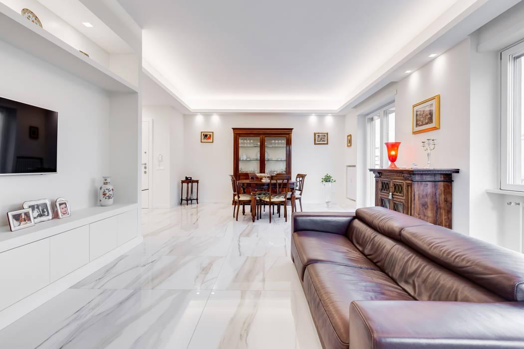 Salon moderne par EF_Archidesign Moderne