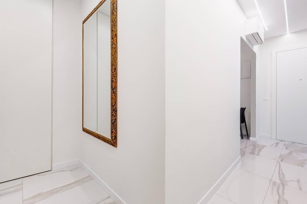 Couloir, entrée, escaliers modernes par EF_Archidesign Moderne