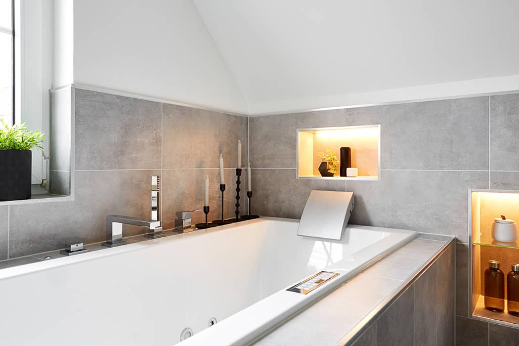 Es werde licht : badezimmer von banovo gmbh,modern | homify