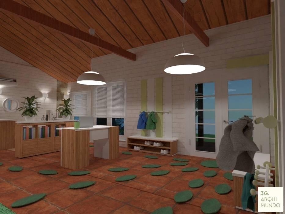 Acceso: Escuelas de estilo  por Arquimundo 3g - Diseño de Interiores - Ciudad de Buenos Aires