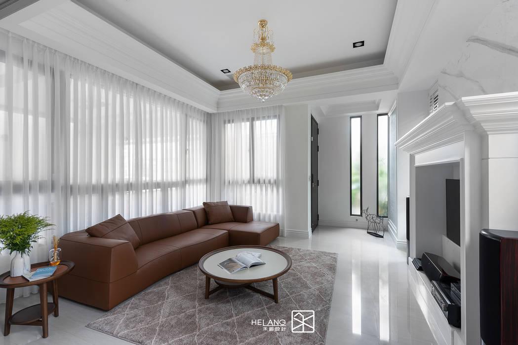 Гостиная в классическом стиле от 禾廊室內設計 Классический