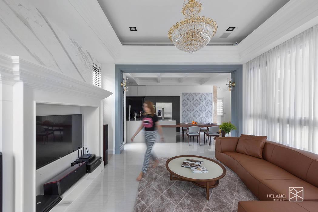 Ruang Keluarga oleh 禾廊室內設計, Klasik