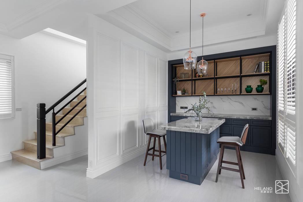 Ruang Makan oleh 禾廊室內設計, Klasik