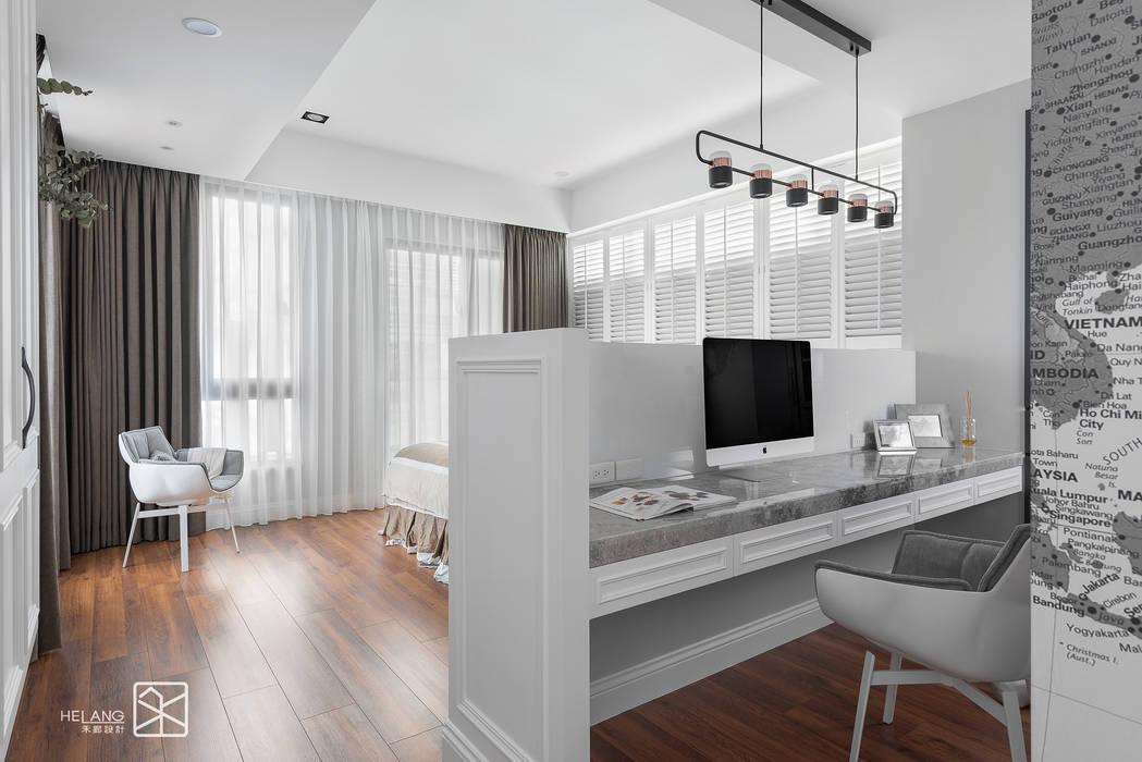 Study/office by 禾廊室內設計, Classic