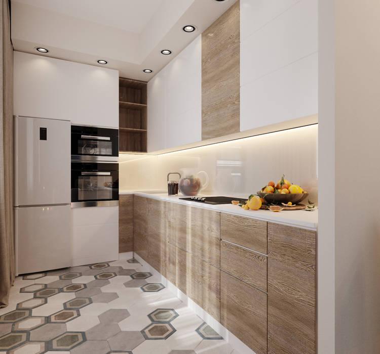 ЖК Бавария: Встроенные кухни в . Автор – ReDi