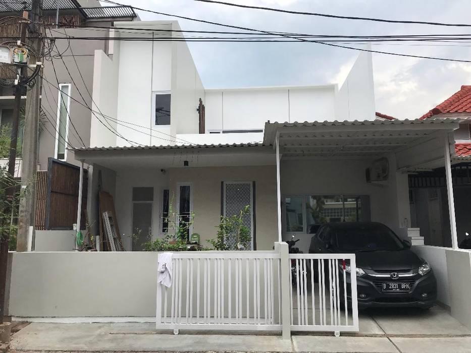 Front Elevation Equator.Architect Rumah Minimalis