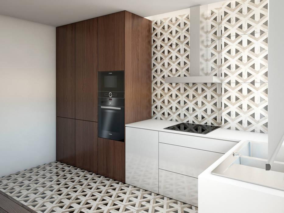 Cozinha: Armários de cozinha  por Alma Braguesa Furniture