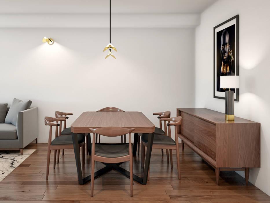 Projekty,  Jadalnia zaprojektowane przez Alma Braguesa Furniture ,