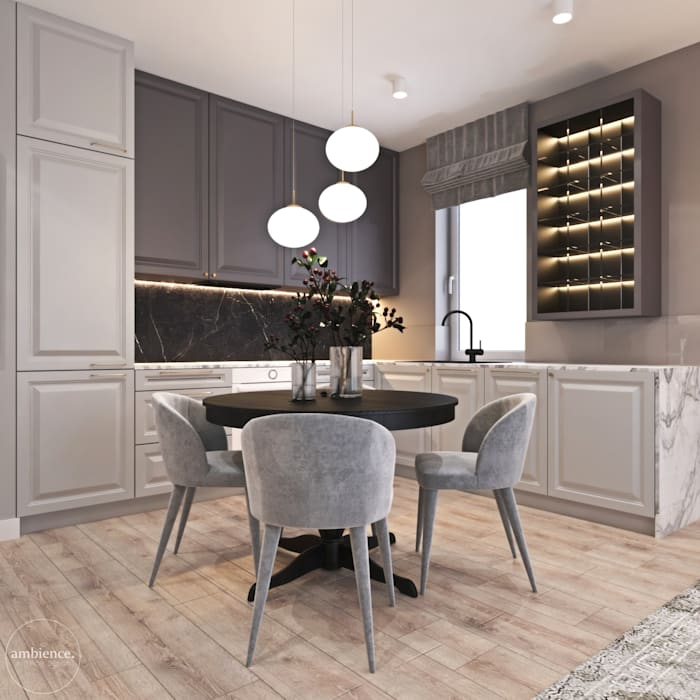 Ambience. Interior Design Classic style kitchen
