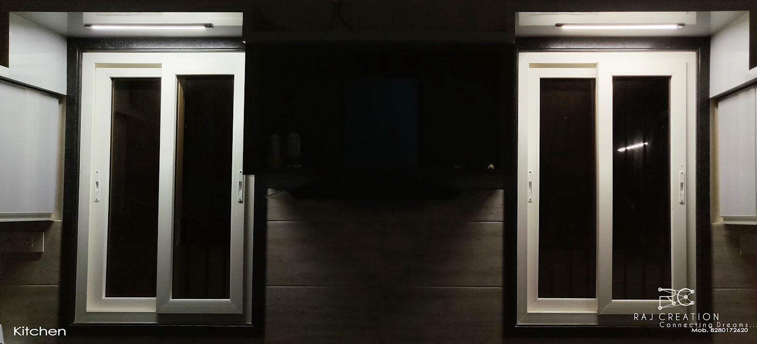 Brijdham (Bungalow) Modern windows & doors by Raj Creation Modern