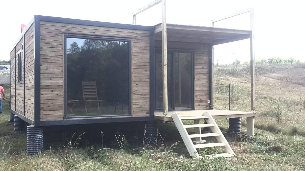 MOVİ evleri – MOBİL VİLLA  ( 2 + 1 ) :  tarz Küçük Evler