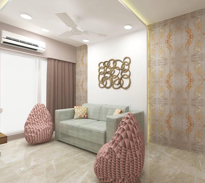 Bedroom:  Bedroom by DesignTechSolutions