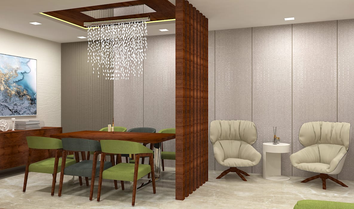 Living room:  Living room by DesignTechSolutions