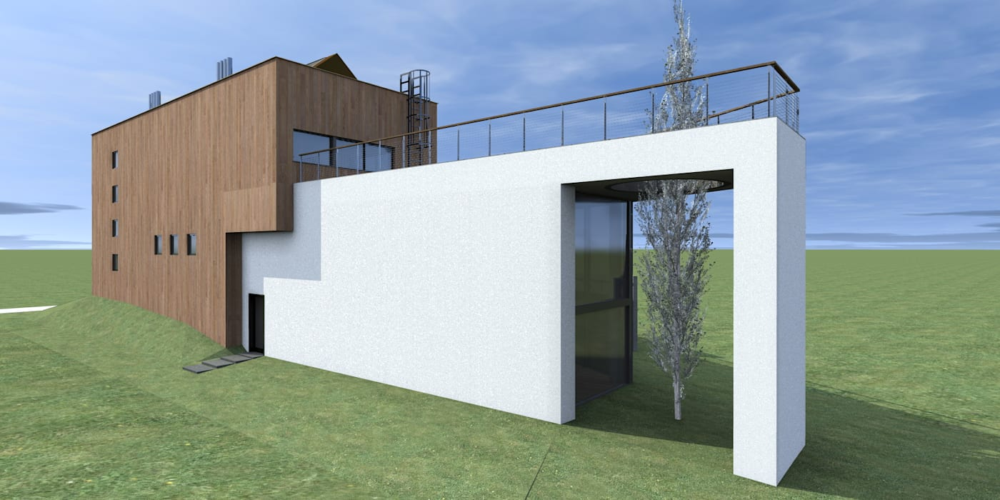 by Budownictwo i Architektura Marcin Sieradzki - BIAMS Industrial Reinforced concrete