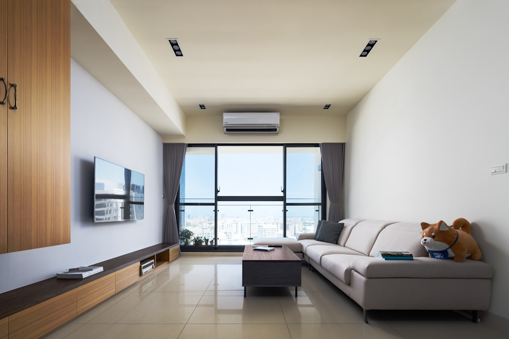 新竹慈雲路夢想市 楊公館 根據 築室室內設計 現代風