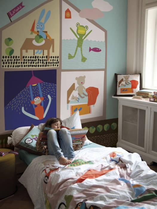 SK Concept Duvar Kağıtları  – At home blue mural :  tarz Duvarlar