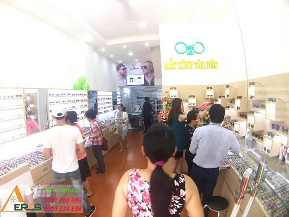 Thiet Ke Thi Cong Shop Mat Kinh Tam Duc Tai Quan Tan Binh bởi xuongmocso1 Hiện đại