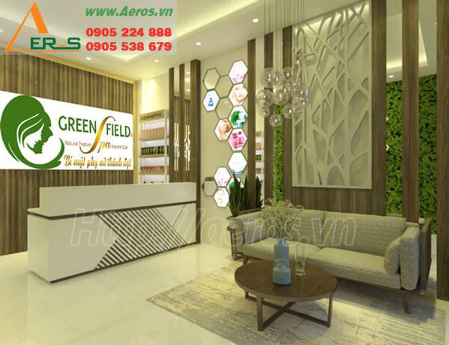 Thiet Ke Thi Cong Spa Green Field Go Vap bởi xuongmocso1 Hiện đại