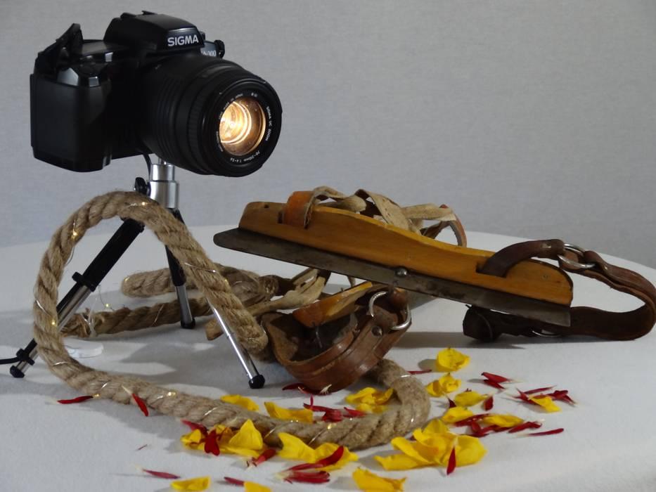 Cameralamp Sigma - SA - 300:   door Gilbert's Style, Industrieel