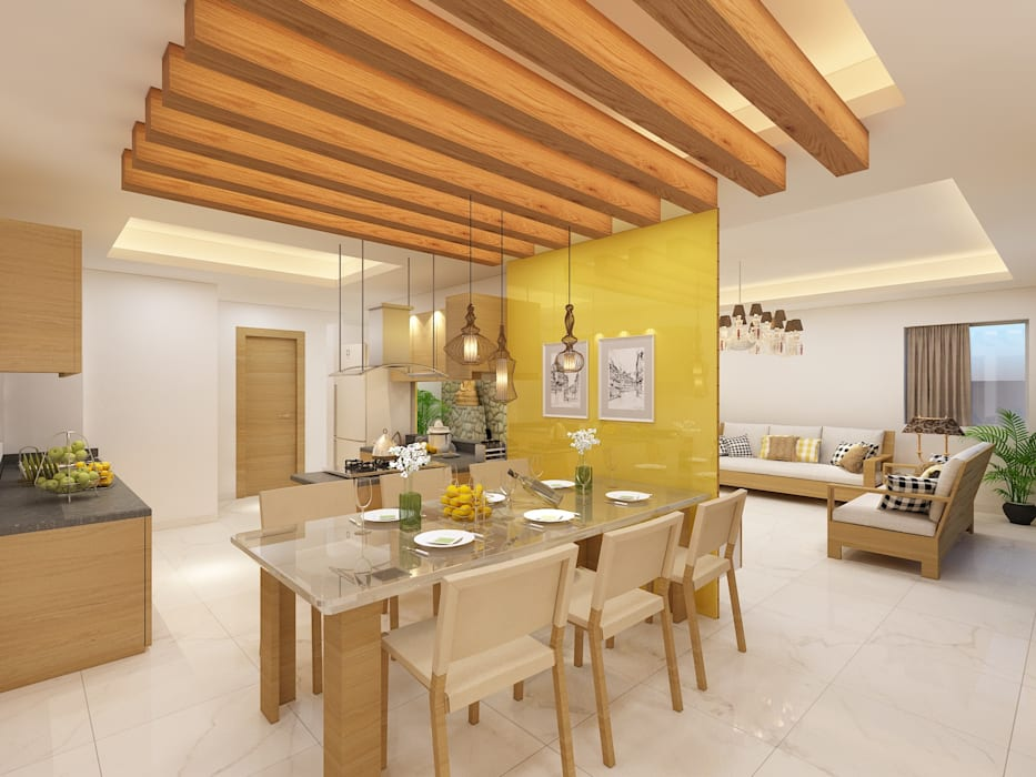 Residential Project:  Dining room by Designs Combine