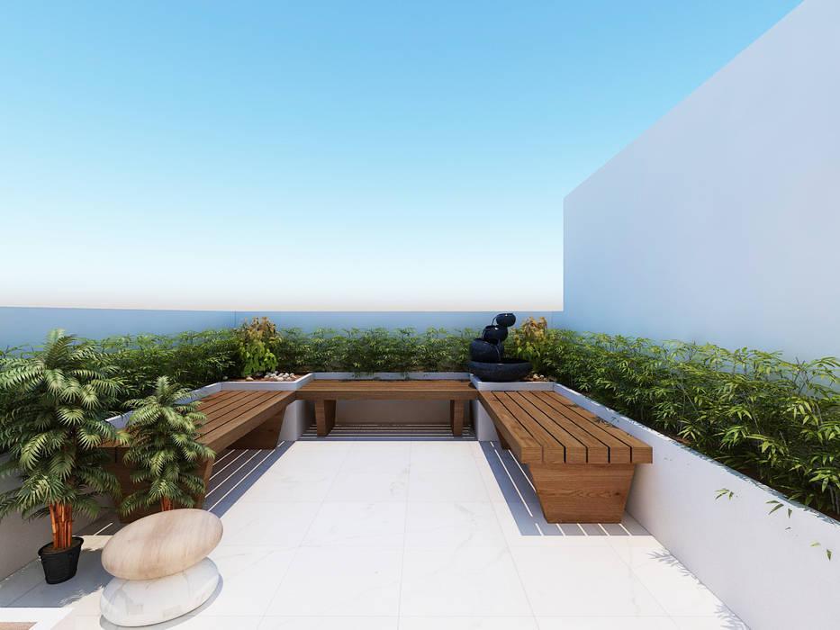 Residential Project Modern balcony, veranda & terrace by Designs Combine Modern