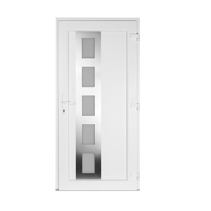 Haustür Drutex Iglo 5 in Weiß:  Tür von Fensterblick GmbH & Co. KG