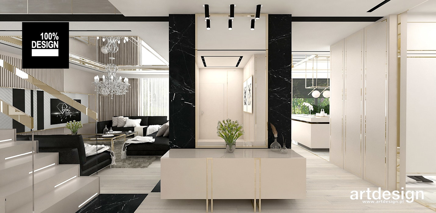 Wspaniały Eleganckie wnętrze domu – hol: styl , w kategorii korytarz JX12