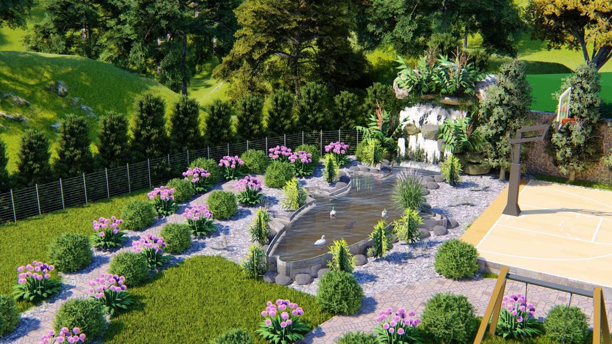 CNR İNŞAAT VE MİMARLIK – CNR İNŞAAT VE MİMARLIK PROJELER:  tarz Bahçe süs havuzu