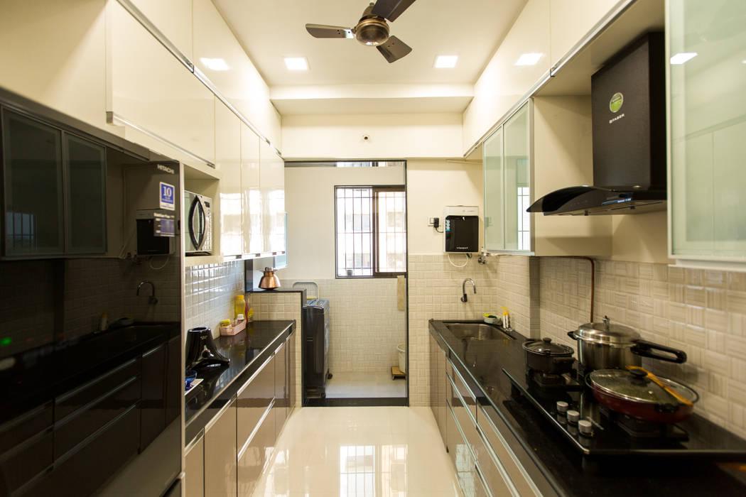 Residence at Borivali:  Kitchen by The 7th Corner - Interior Designer