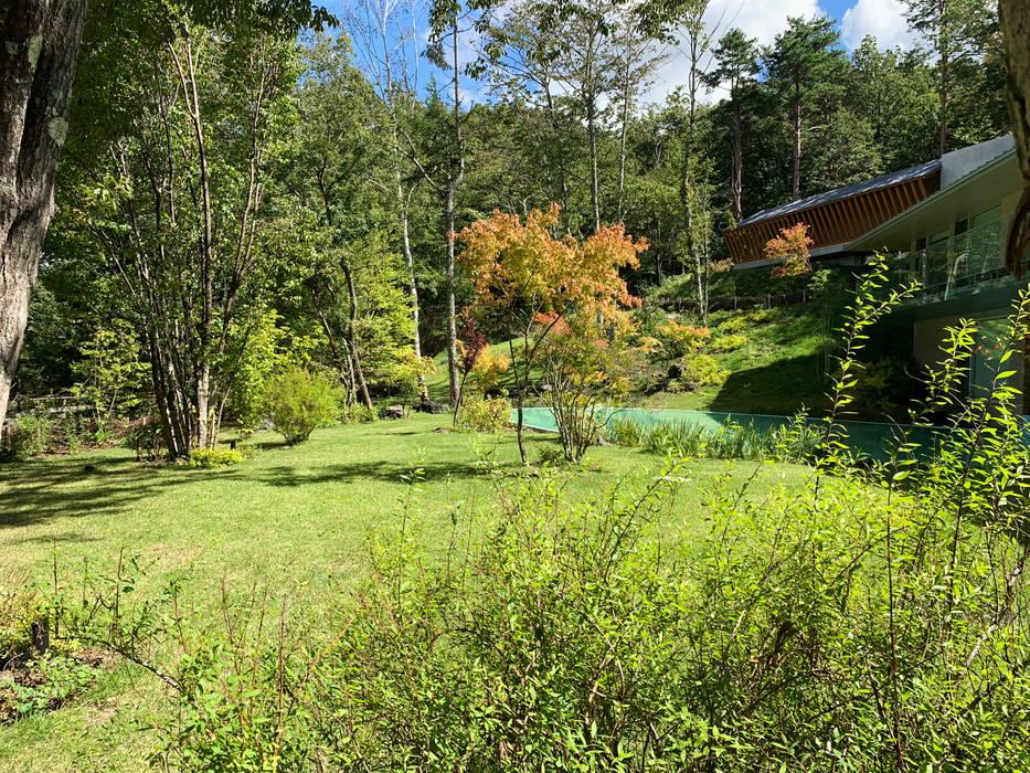 富士桜高原の庭: (有)ハートランドが手掛けたアプローチです。,オリジナル