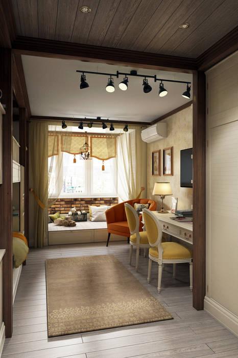 Teen bedroom by Zibellino.Design,