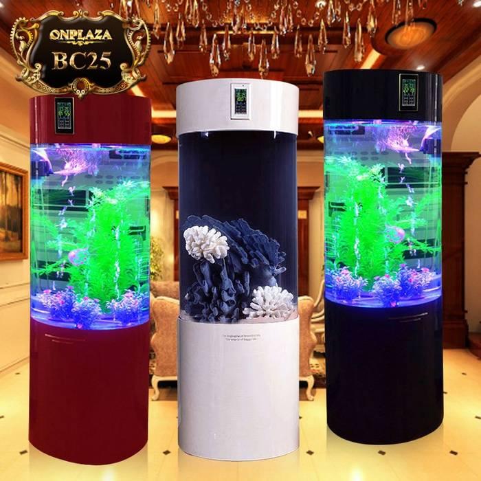 Bể cá mini usb để bàn kèm màn hình chức năng cao cấp ( loại bộ lọc dưới ) BC25 bởi Công Ty Thi Công Và Thiết Kế Tiểu Cảnh Non Bộ