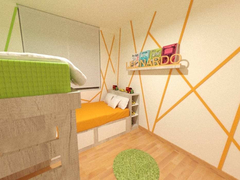 Dormitorio infantil: Cuartos para niños de estilo  por Inspira