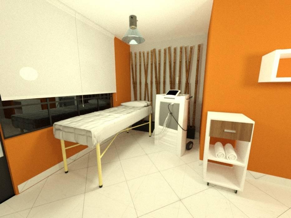 Consultorio: Saunas de estilo  por Inspira